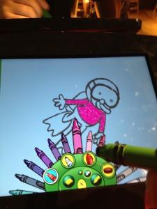 crayola art alive screen