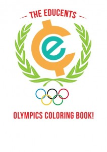 educents olympic coloring book
