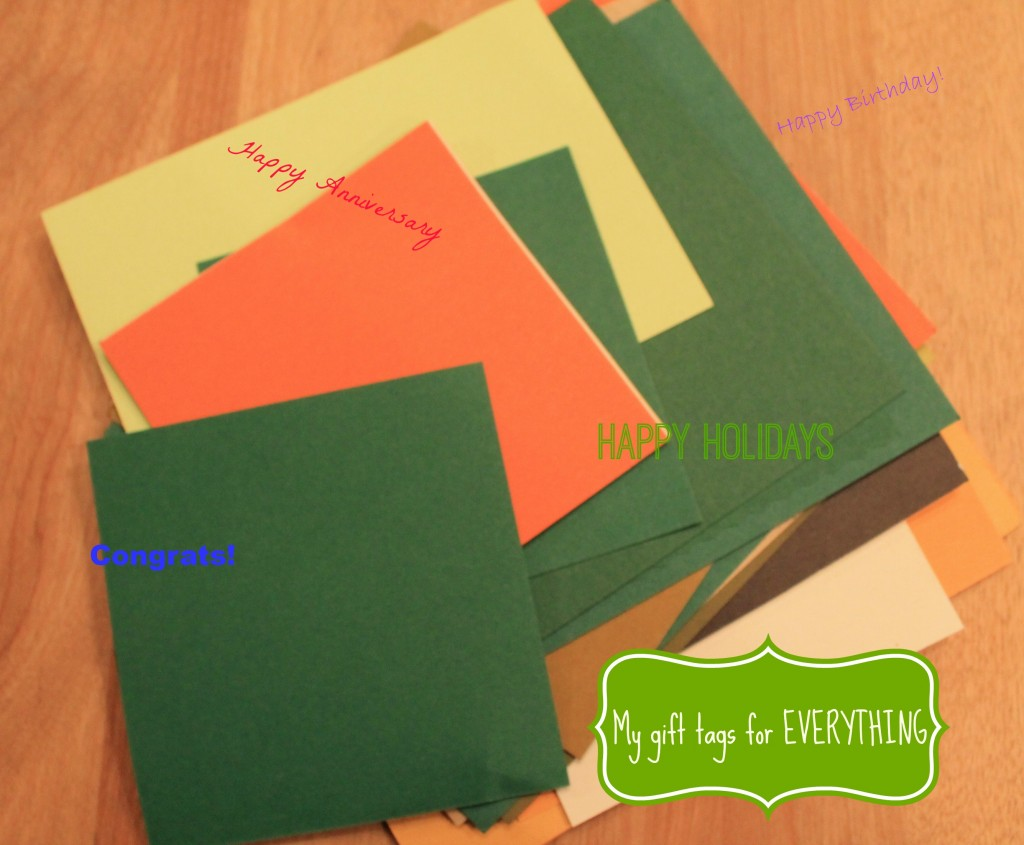 cheapskate gift tags