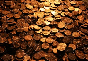 Pennies wikimedia