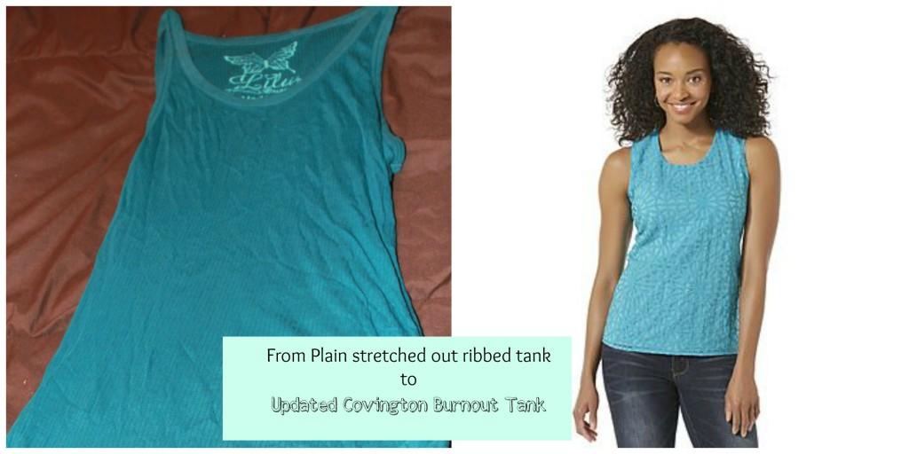shopathome plain tank burnout