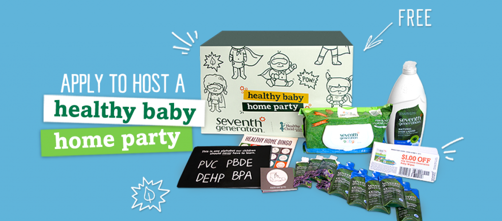 Seventh Gen healthy baby home party