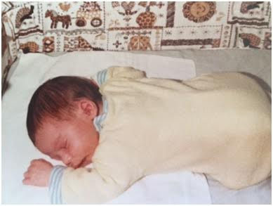 HALO grandparent belly sleep