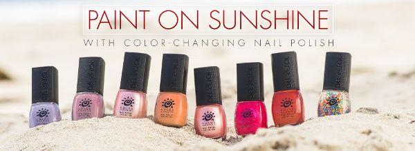 del sol nail polish beach