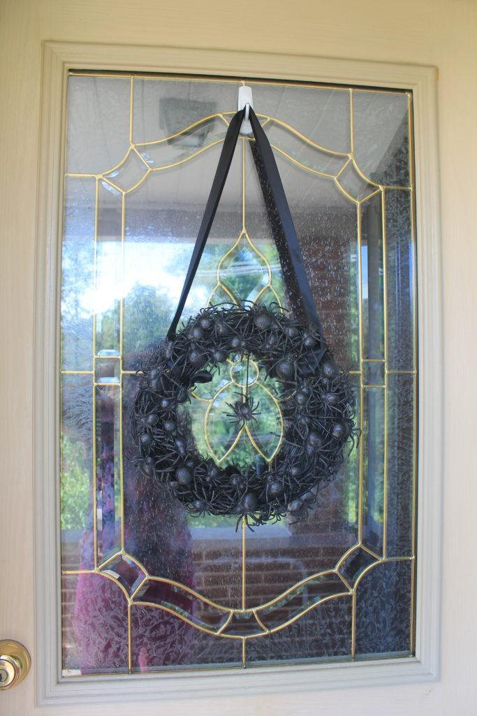 spider wreath oriental trading