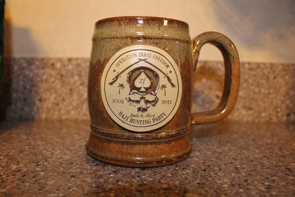 Operation Iraqi Freedom mug from Zero Foxtrot