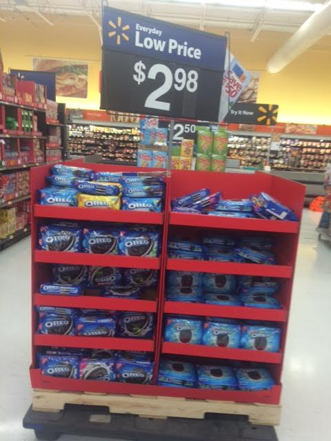 Oreo Display Walmart Better