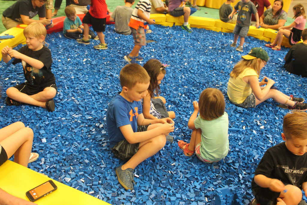 LEGO play pit