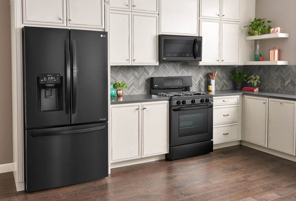 Lg Matte Black Kitchen Appliances For Your Style Save Up