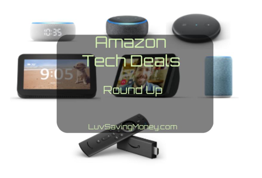Amazon Tech Deals Round Up