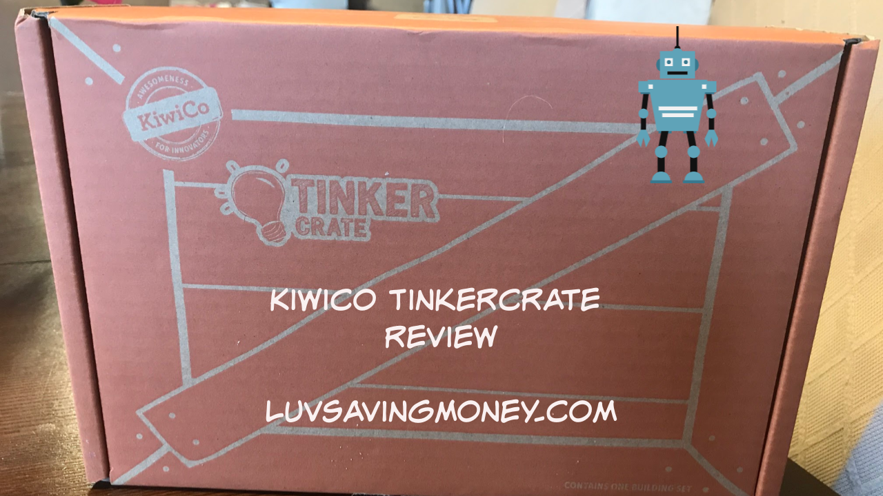 KiwiCo Box Review: Tinker Crate for Ages 9 – 16+
